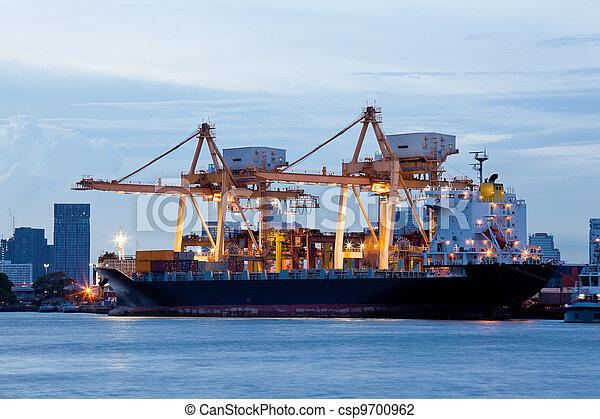Logistic Import Export Freight - csp9700962