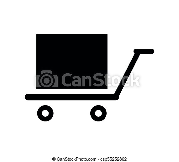 logistics freight trolley clip art vector search drawings and rh canstockphoto co uk baby trolley clipart shopping trolley clipart