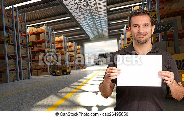 Logistics offer - csp26495650