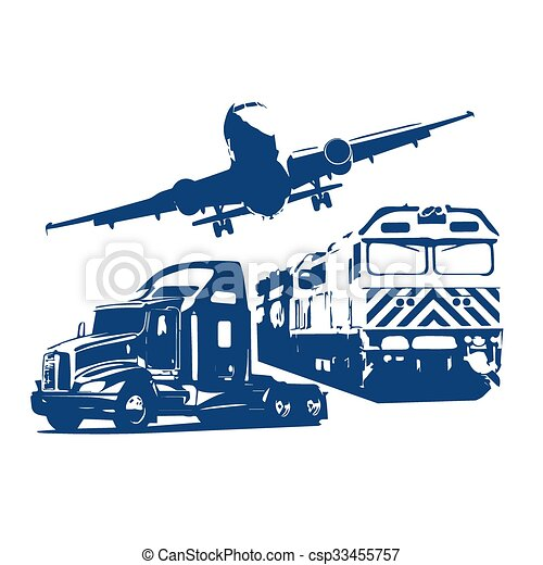 Logistics transport concept - csp33455757