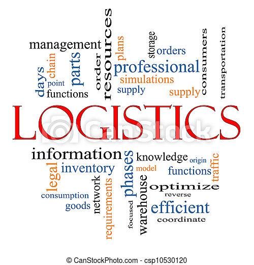 logistique, concept - csp10530120