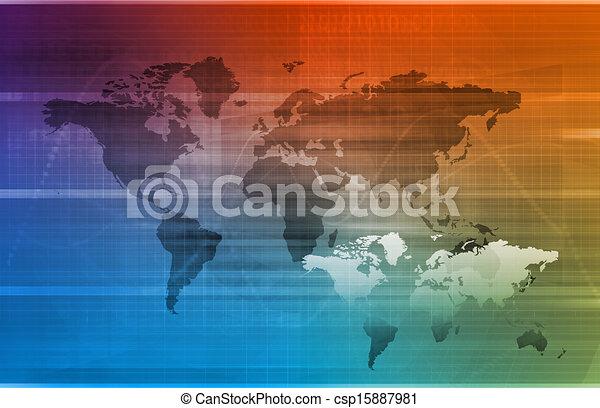 logistique, global - csp15887981