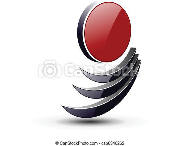 Logo 3D - csp6346262