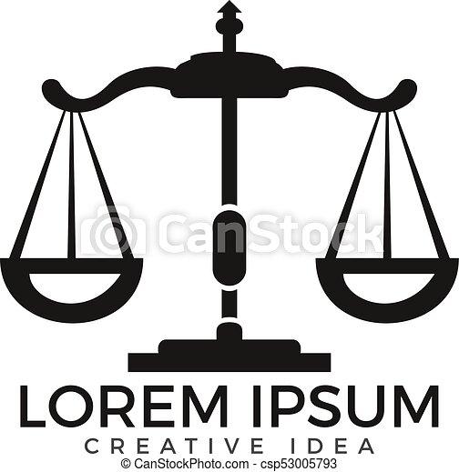 e694b0d9 Logo, advokat, lov, design. Justice., symbol, lov.