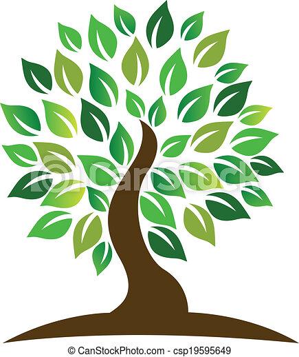 logo, arbre - csp19595649