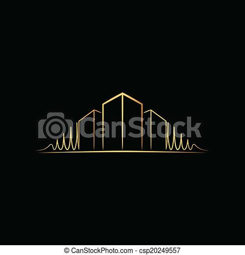 Suche Architekt logo aus architekt schwarz clipart vektor suche illustration