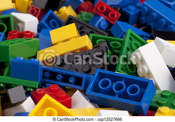 logo, blocs, coloré - csp12527666