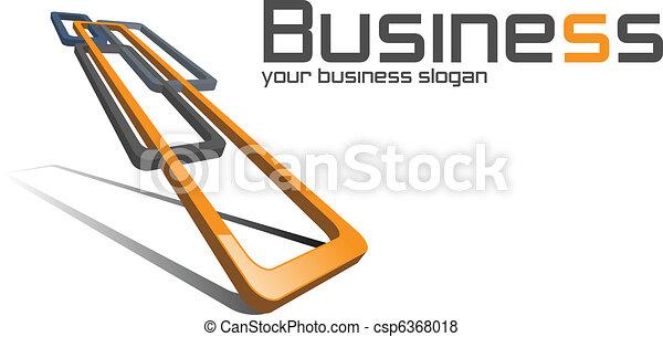 logo, business. - csp6368018