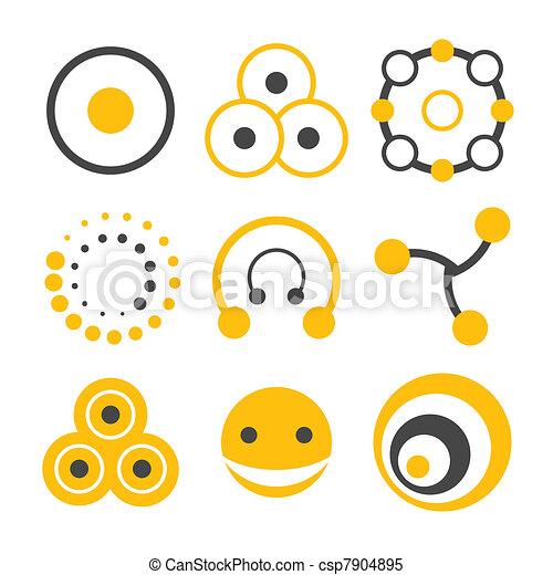 logo, cirkel, communie - csp7904895