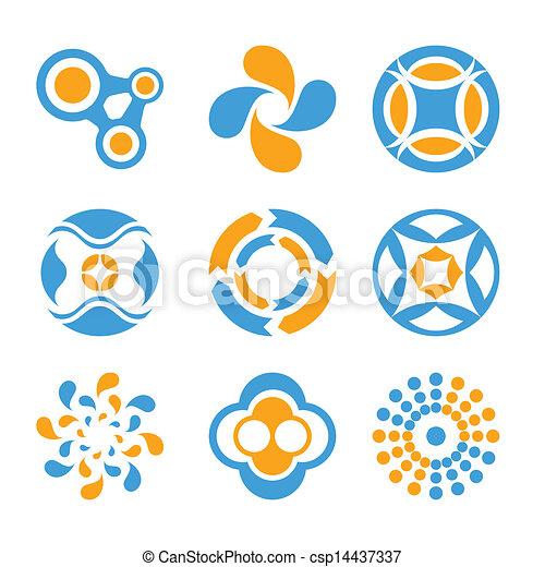 logo, cirkel, communie - csp14437337