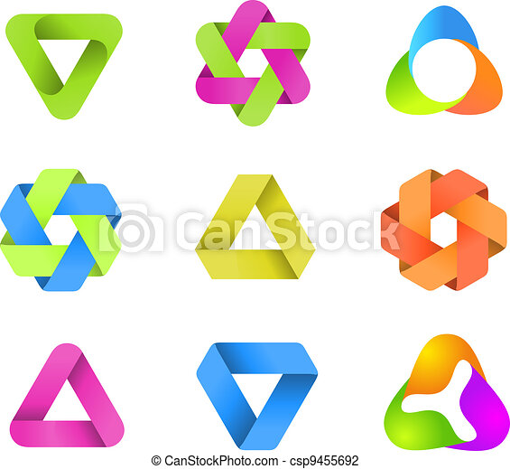 LOGO collection. Infinite shapes - csp9455692