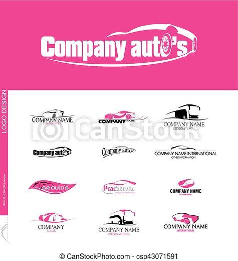 Logo Design Vehicle Sales And Car Rental Companies Created Logo Design