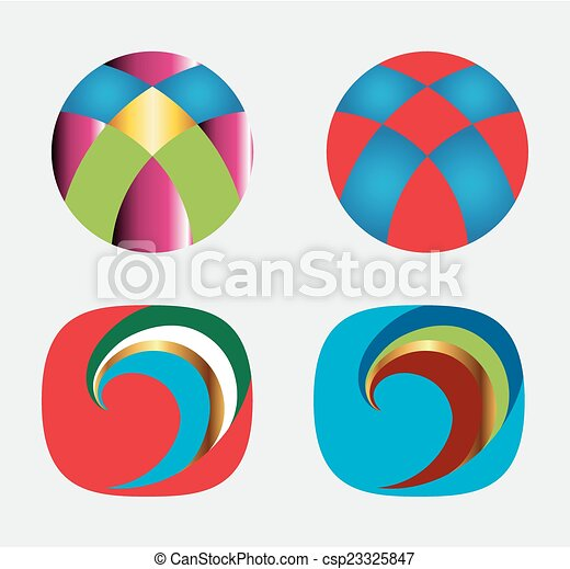 Logo Design elements - csp23325847