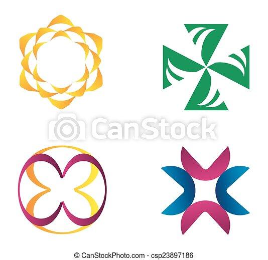 Logo Design Elements - csp23897186