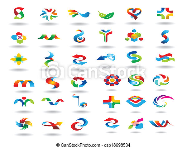 logo design elements - csp18698534