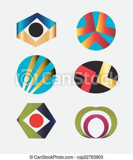 Logo Design Elements Pack - csp22763903