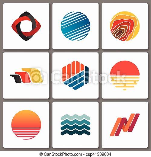 Geometric Designs Clip Art