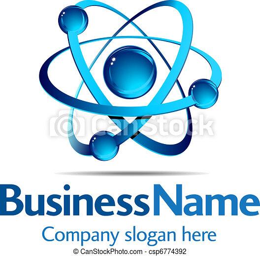 logo, dynamique - csp6774392