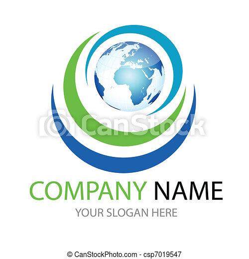 logo, global - csp7019547