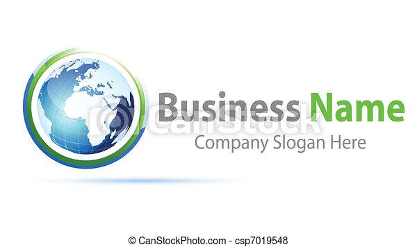 logo, global - csp7019548
