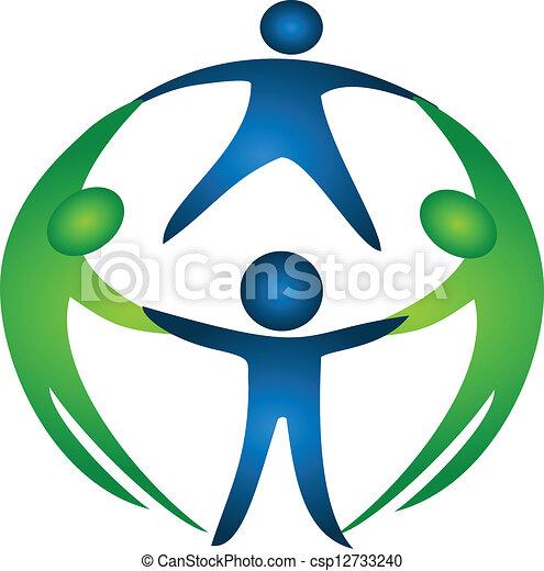 logo, grupa, drużyna - csp12733240