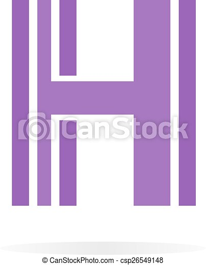 logo h letter for company vector design template vector logo design