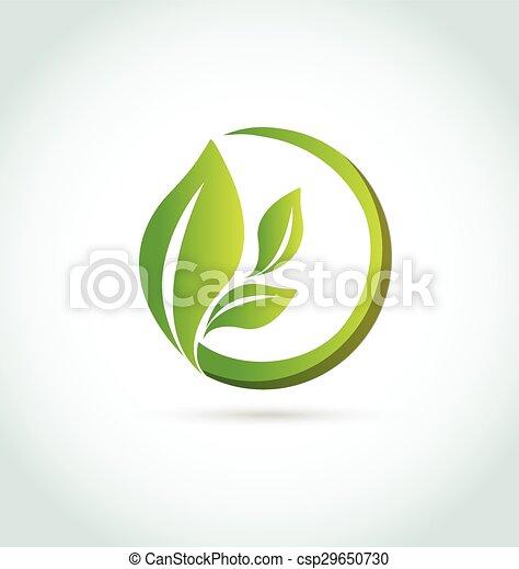 logo, healh, det leafs, natur - csp29650730