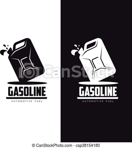logo kanister benzin kanister wohnung kanister satz