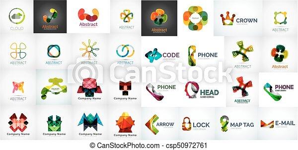 logo, komplet, handlowy - csp50972761