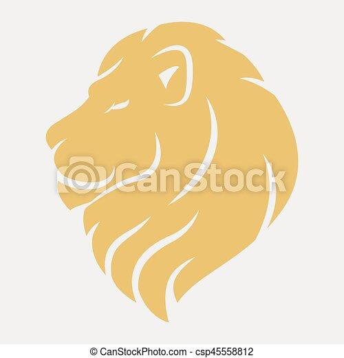 Logo Lion Tête