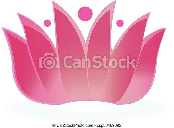 Line Art Flower Design : Logo lotus flower design vector eps vectors