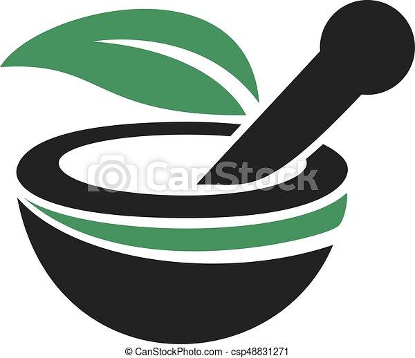 logo, medicinsk, apotek, design. - csp48831271