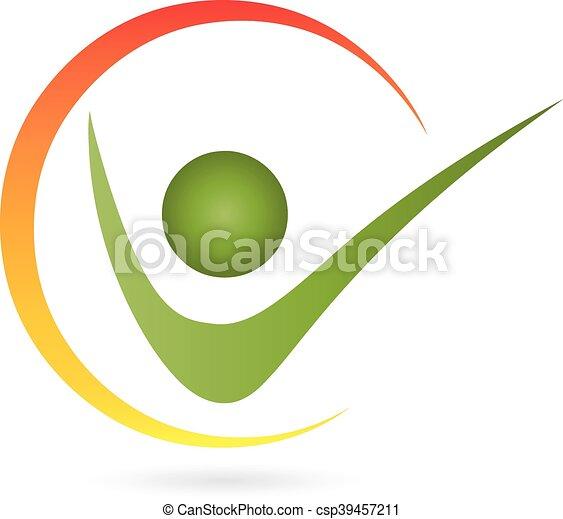 Logo Mensch Person Kreis
