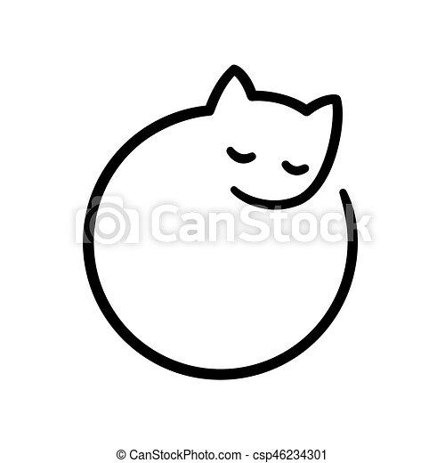logo, minimal, chat - csp46234301