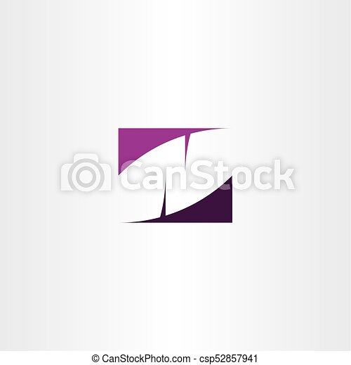 Logo N Icon Letter Symbol Purple Vector Element Eps Vector Search