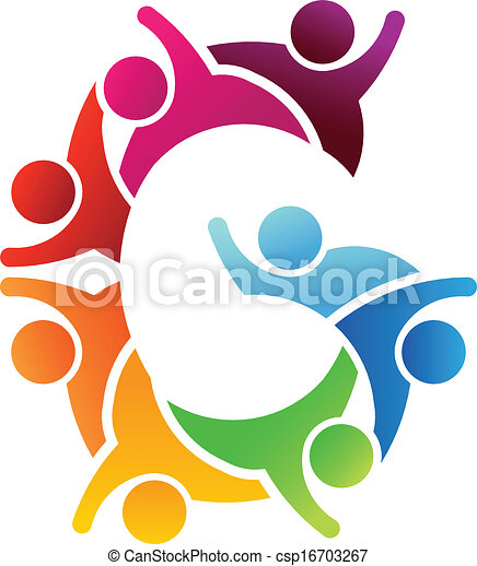 Logo People letter G - csp16703267
