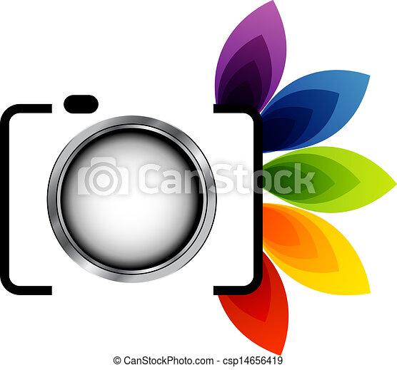 logo, photographie - csp14656419