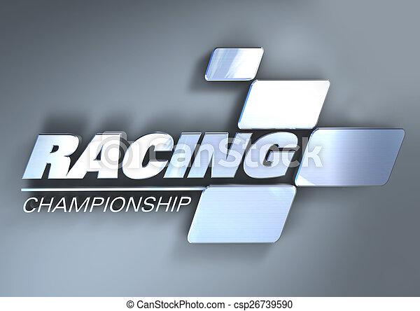 Logo Racing Championship - csp26739590