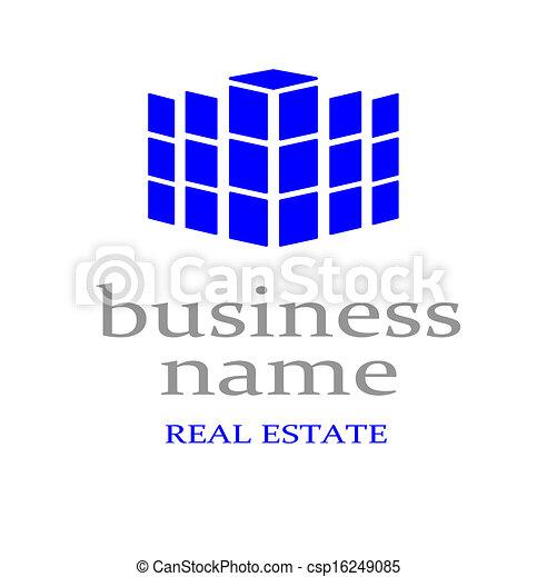 Logo real estate. - csp16249085