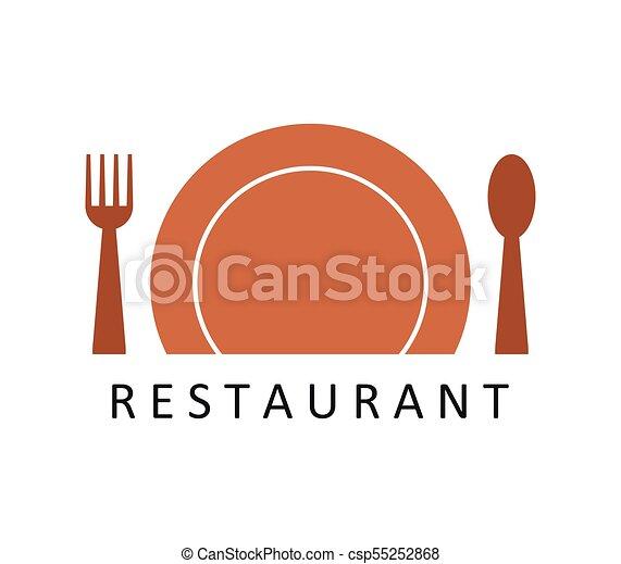 logo, restaurant - csp55252868