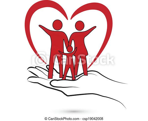 Familienschutzlogo - csp19042008