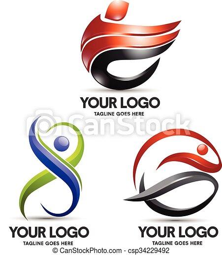 logo, sport - csp34229492