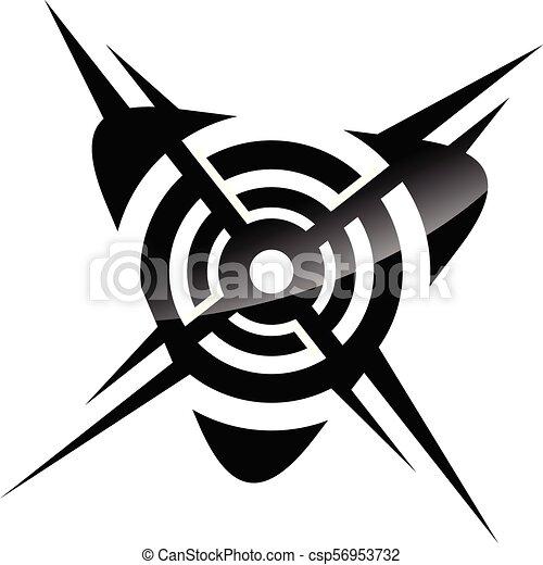 logo, sport, tarcza - csp56953732