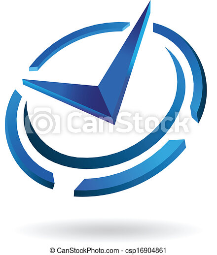 logo, syled, klok, tijd - csp16904861