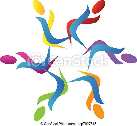 logo, teamwork - csp7927815