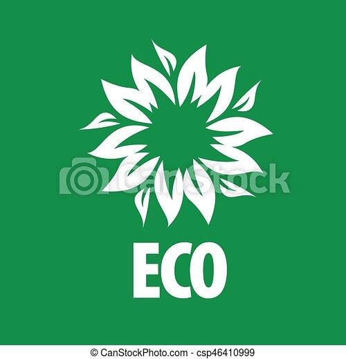 logo vector eco - csp46410999