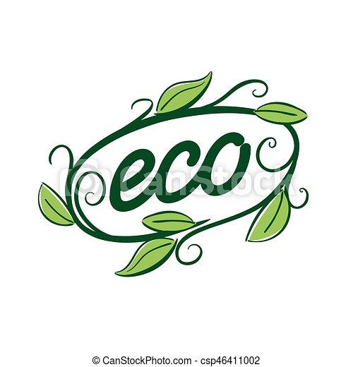 logo vector eco - csp46411002
