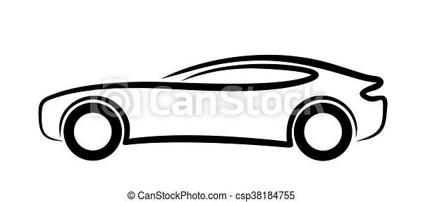logo voiture sports croquis voiture sports. Black Bedroom Furniture Sets. Home Design Ideas