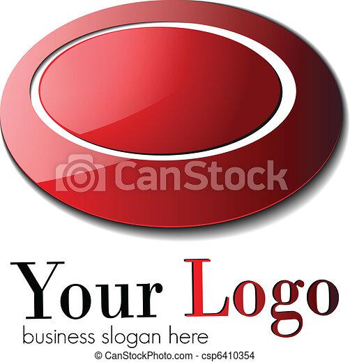 logo, zakelijk - csp6410354