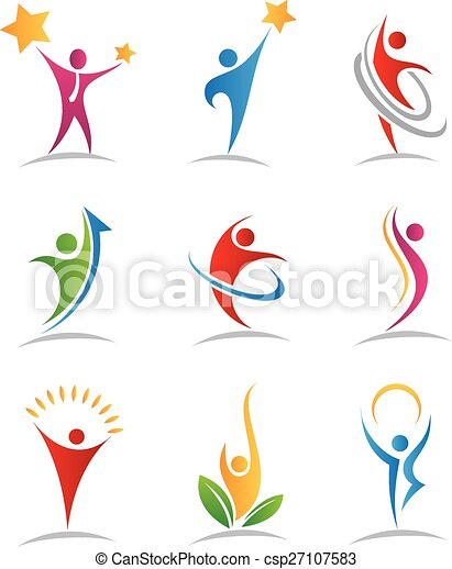 logos, armonia, icone - csp27107583
